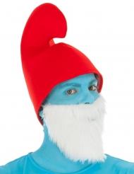 Cappello da Grande Puffo™ per adulto