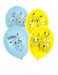 6 palloncini in lattice Pokemon™
