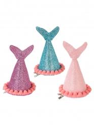 3 cappelli da festa Sirena a Paillettes