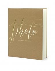 Album per foto kraft e oro