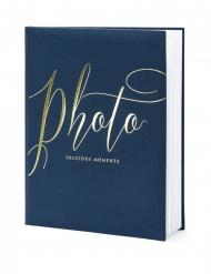 Album per foto blu e oro