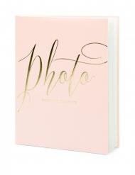 Album per foto rosa e oro