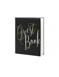 Guest book nero e oro