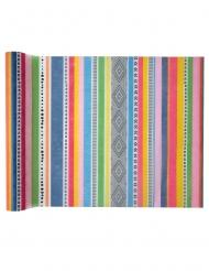 Runner da tavola tessuto non tessuto multicolor peruviano
