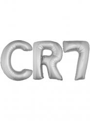 Palloncino alluminio giocatore color argento