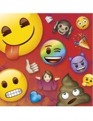 16 tovaglioli di carta Emoji Rainbow™