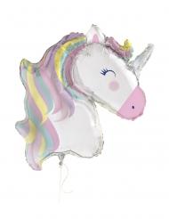Palloncino alluminio gigante unicorno magico