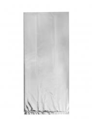 20 sacchetti in plastica argentati