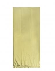 20 sacchetti in plastica dorati
