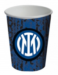 8 bicchieri in cartone Inter™