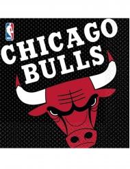 16 tovaglioli di carta Chicago Bulls™