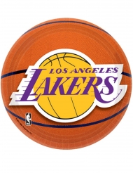 8 piattini in cartone Lakers™ 18 cm