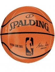 Palloncino alluminio pallone basket NBA Spalding™