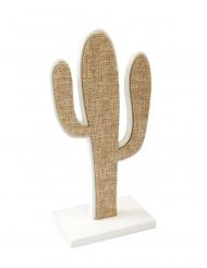 Cactus in tela con supporto