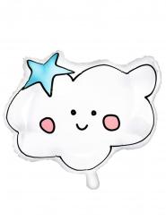 Palloncino in alluminio nuvola bianca