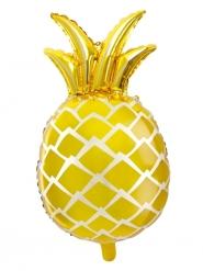 Palloncino in alluminio ananas gialla