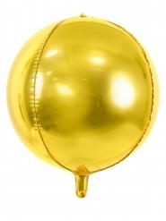 Palloncino alluminio rotondo oro metallizzato