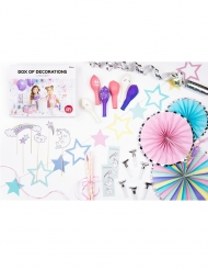Kit 35 decorazioni per compleanno unicorno