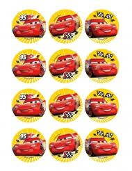 12 Decorazioni di ostia per biscotti Car™ 6 cm