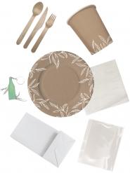 Kit ecologico per picnic 4 persone
