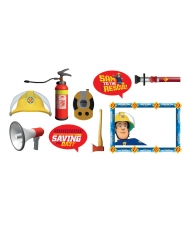 Kit 9 accessori photobooth Sam il pompiere™