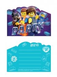 8 inviti per festa Lego Movie 2 - Una nuova avventura™