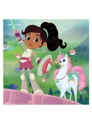 16 tovaglioli di carta Nella principessa coraggiosa™