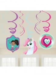 6 sospensioni a spirale Nella principessa coraggiosa™