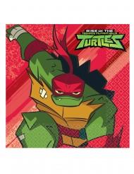 16 tovaglioli di carta Il destino delle Tartarughe Ninja™