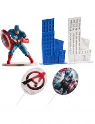 Kit decorazioni per torte Captain America™