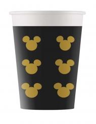 8 bicchieri in cartone Topolino Gold™