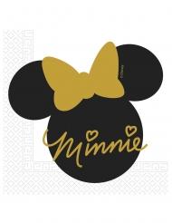 20 tovaglioli di carta Minnie Gold™