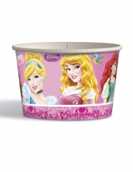 8 coppette gelato Principesse Disney™in cartone