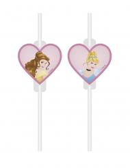 4 cannucce con vignetta Principesse Disney Dreaming™