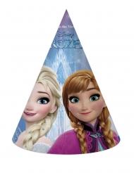 6 cappellini per festa in cartone Frozen™
