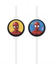 4 cannucce con vignetta Spiderman™