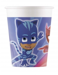 8 bicchieri di cartone dei Super Pigiamini™ 200 ml