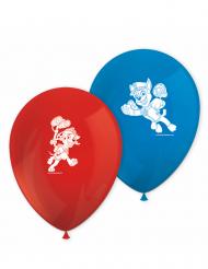 8 palloncini rossi e blu Paw Patrol™