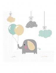 20 tovaglioli di carta elefantino