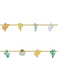Ghirlanda in cartone tema cactus