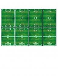 Tovaglia in plastica campo di calcio