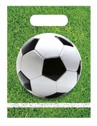 6 sacchetti regalo palloni di calcio