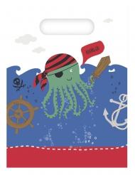 6 sacchetti per festa pirati in mare