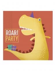 20 tovaglioli di carta dinosauro party