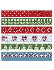 20 Tovaglioli di carta Natale en stile nordico