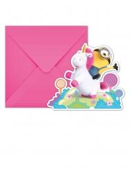 6 inviti per festa unicorno con i Minions™