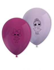 8 palloncini viola LOL Surprise™