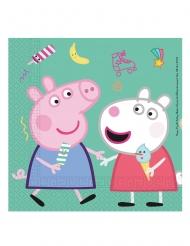 20 tovaglioli in carta a tema Peppa Pig™