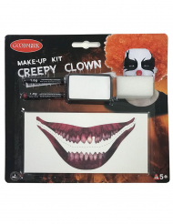 Kit trucco creepy clown adulto
