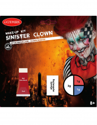 Kit trucco clown sinistro